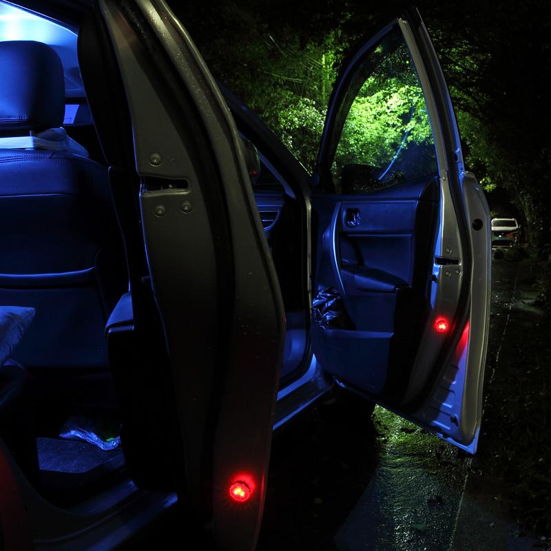 途祎车内脚底氛围灯 格式灯光效果随心选择,声控