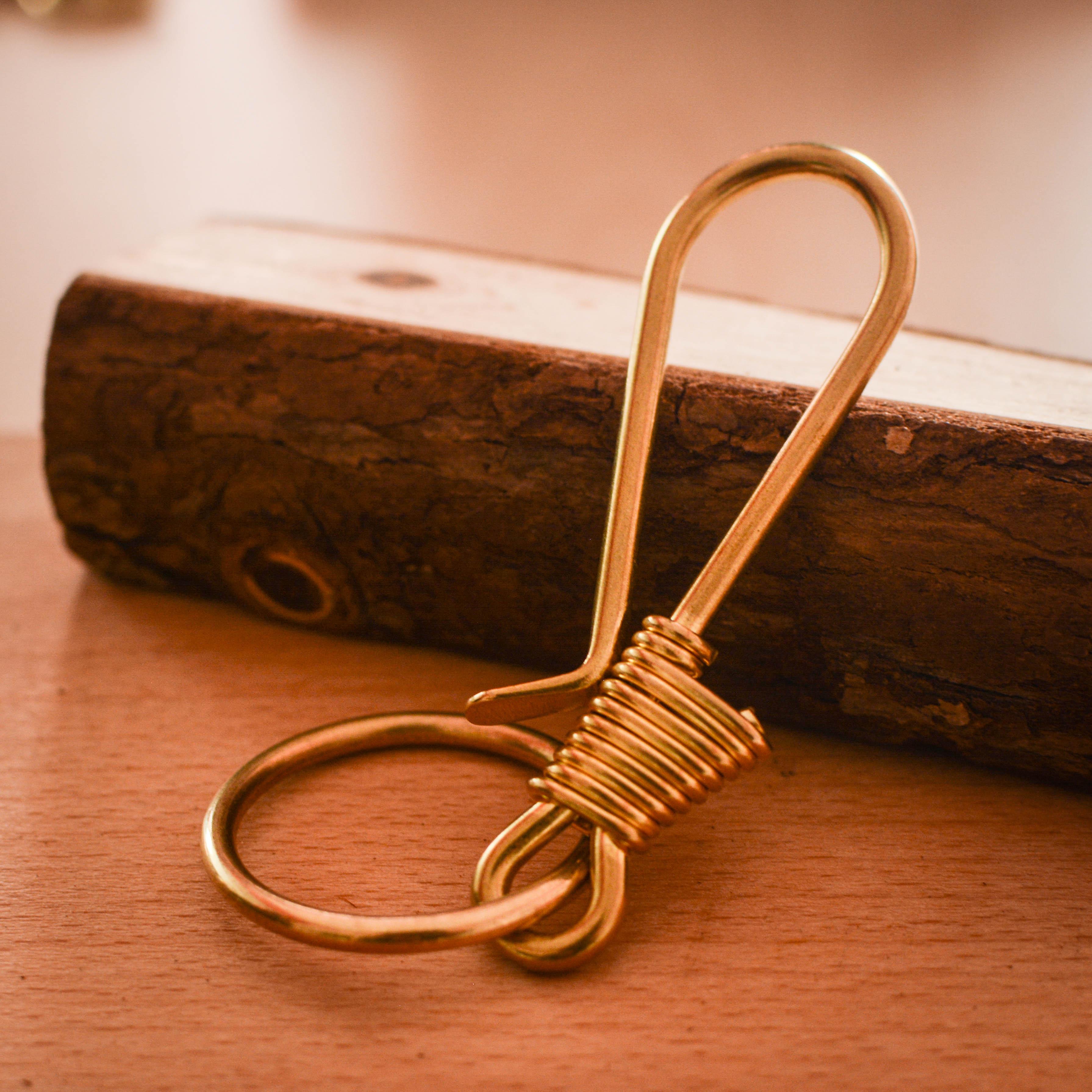 黄铜钥匙扣 汽车钥匙扣 手工制作挂件优惠券