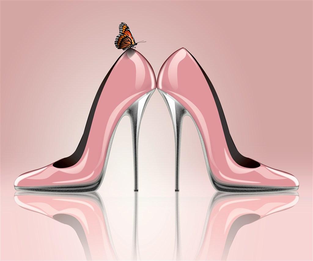 夏季女神必备,时尚百搭高跟鞋简约设计舒适大方