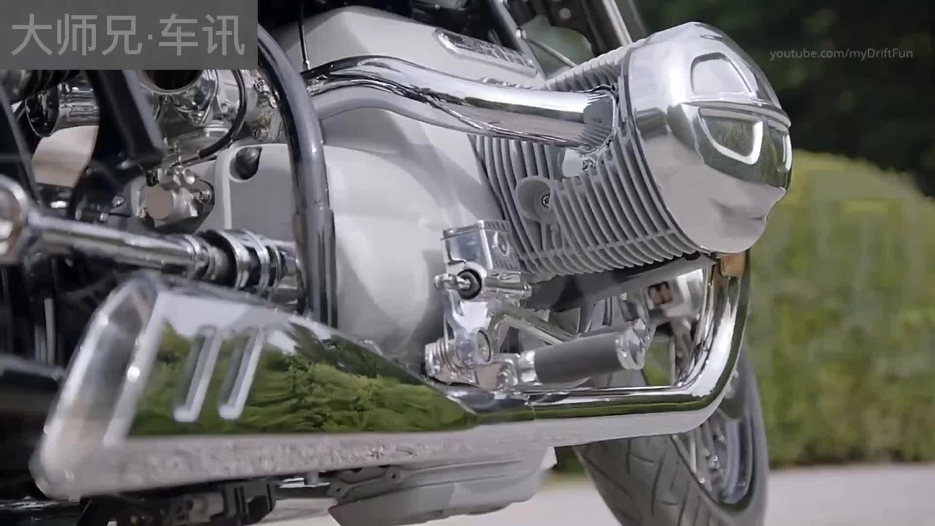 宝马概念摩托 R18 完美的让你无可挑剔!