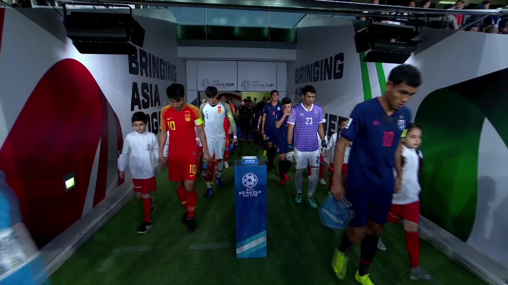 肖智破门 郜林命中点球!国足2-1逆转泰国挺进亚洲杯八强