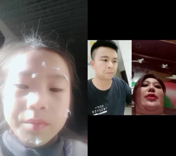 我与@刘米二 一起合拍了视频