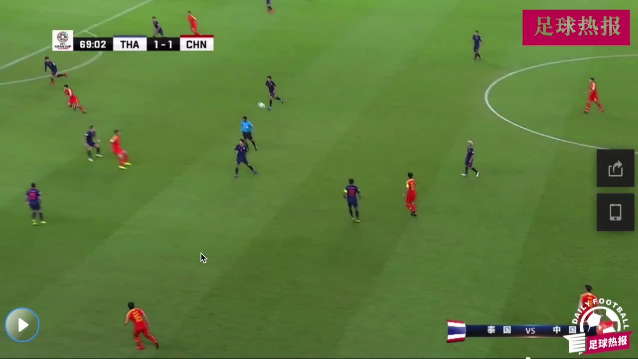 郑智精准传球,郜林单刀造点自己主罚进球,中国2-1反超比分