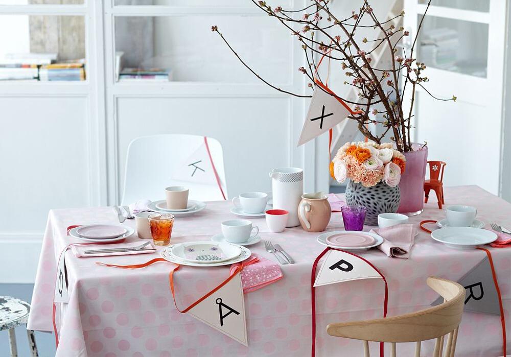 餐桌上的小搭配,专门制造就餐的仪式感