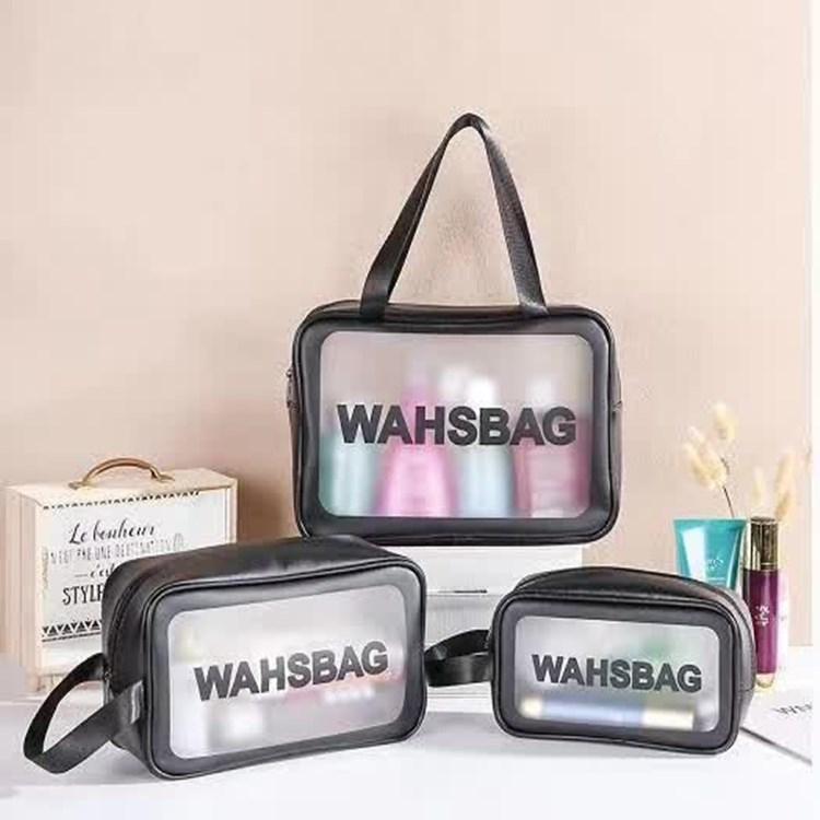 旅行洗漱包透明防水护肤品收纳袋