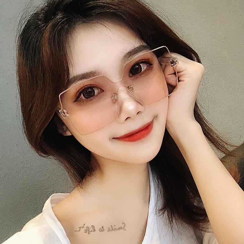 太阳眼镜女韩版潮gm2019新款墨镜ins网红大方框圆脸街拍防紫外线优惠券