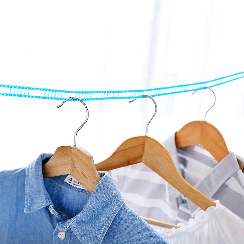 【欣欣限时分享MXR】 防滑防风晾衣绳 栅栏式晒衣绳