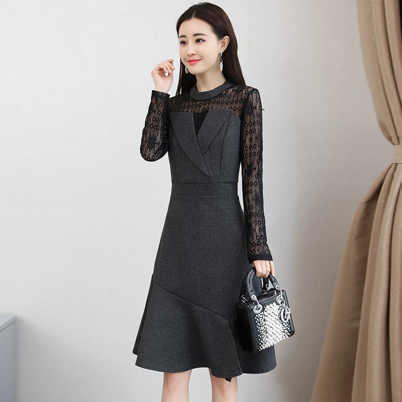 8月上新秋裙,套装,美到极致的连衣裙,让你做个秋美人