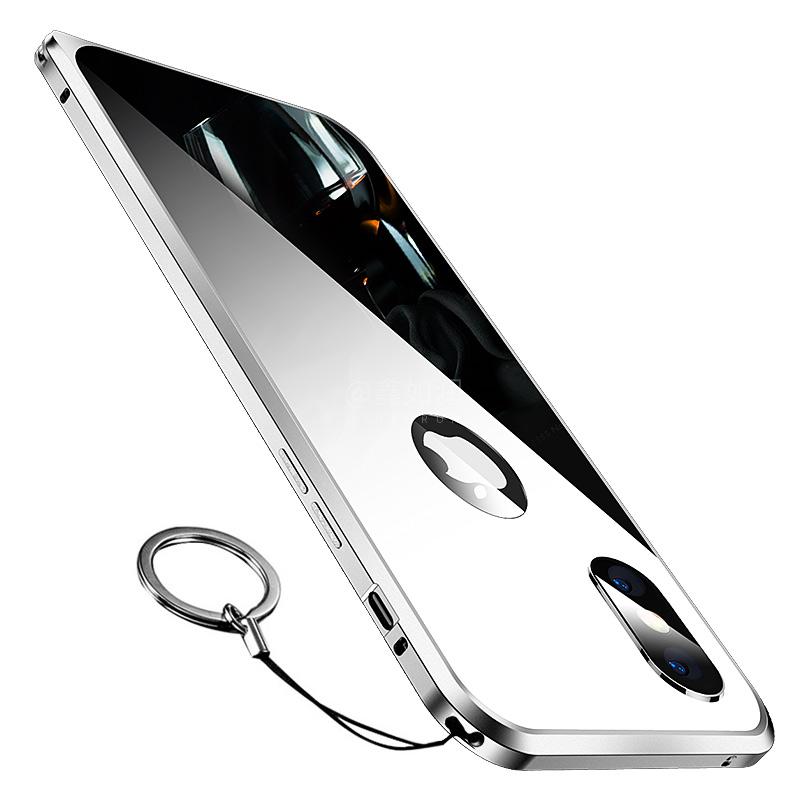 苹果X镜面保护套