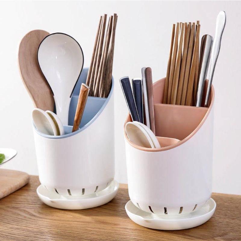 可拆卸塑料沥水筷子架 筷子笼餐具收纳架筷子筒筷子篓
