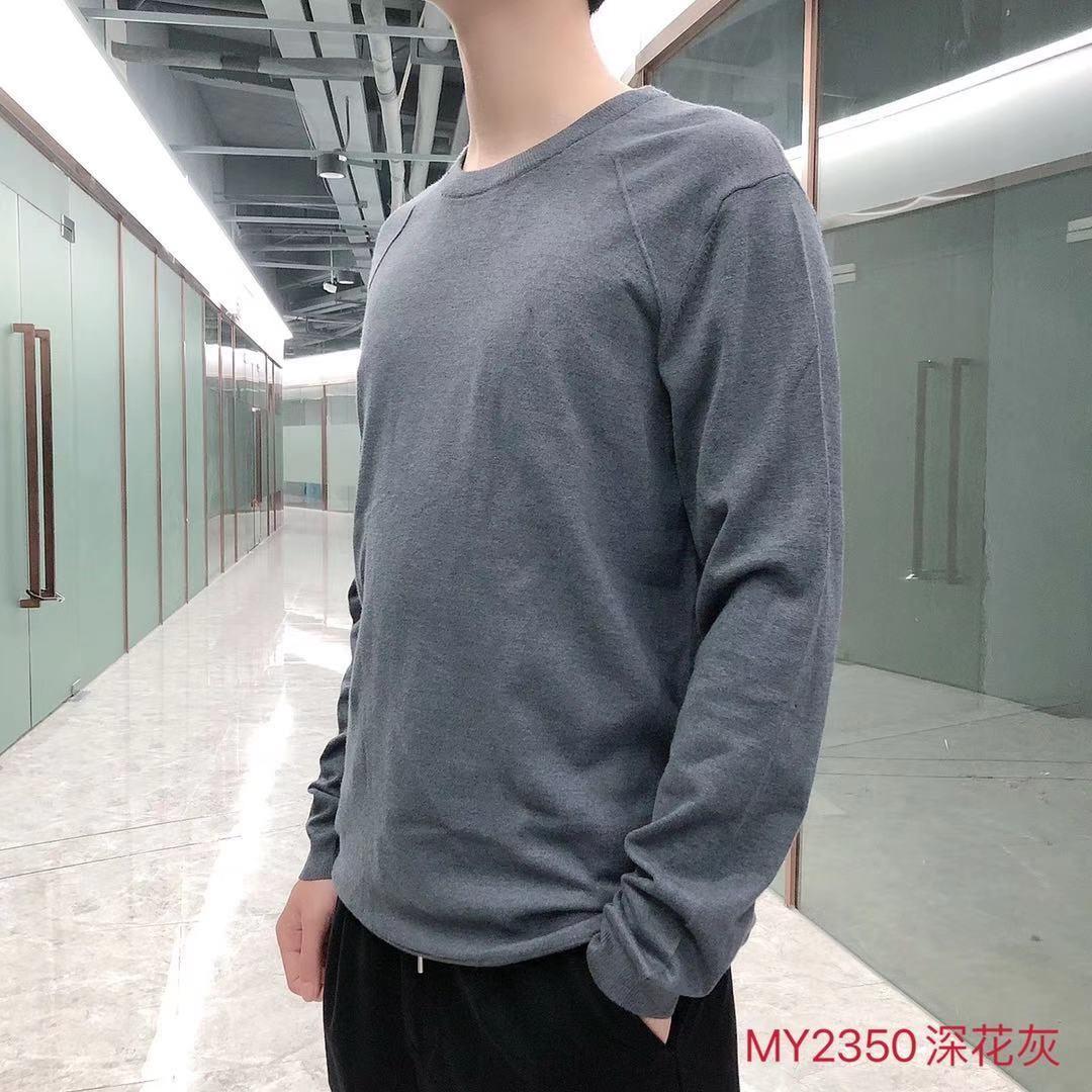 男装针织打底毛衣MY2350款