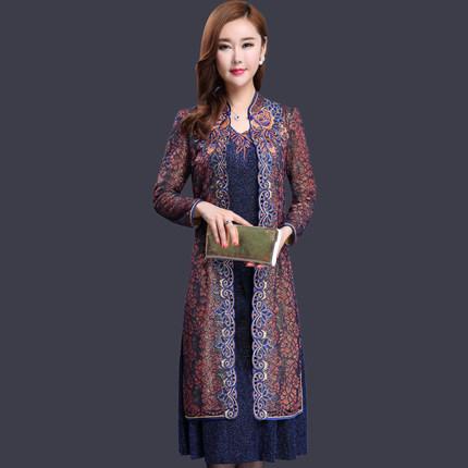 时髦新造型,适合30+女人穿搭的名媛长裙,你穿对了吗