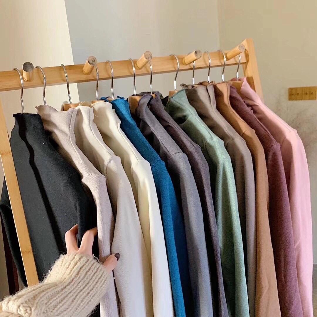 12色仙女边德绒打底衫