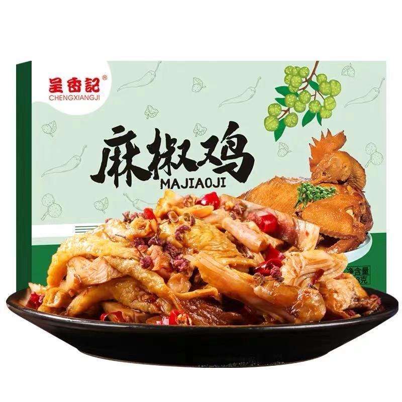 呈香记麻椒鸡328克