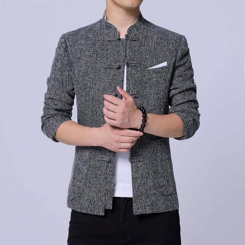 中国男人的硬气选择——改良中山装,既复古经典又潮流时尚,骄傲