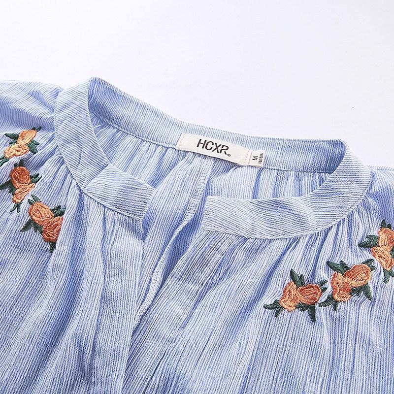 现在的女人都爱这样搭,娃娃衫+短裤,显高显腿长,洋气到爆