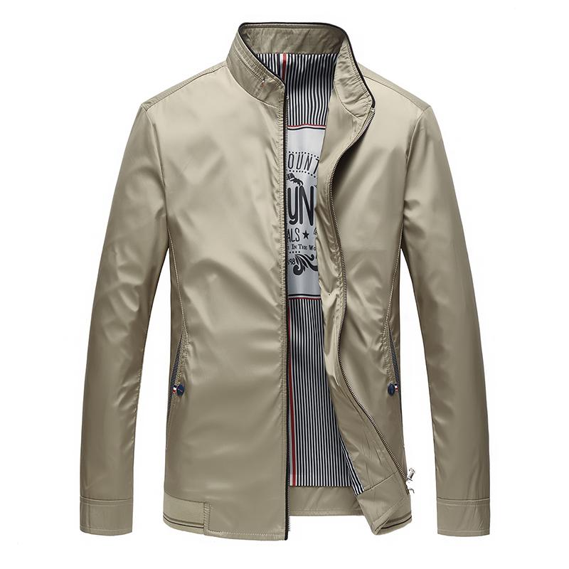 爸爸装外套中年薄款夹克衫优惠券