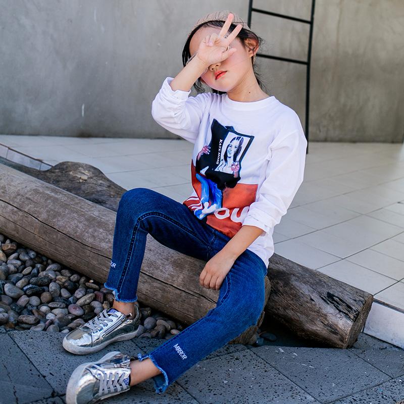 韩版春秋儿童打底衫印花百搭上衣优惠券