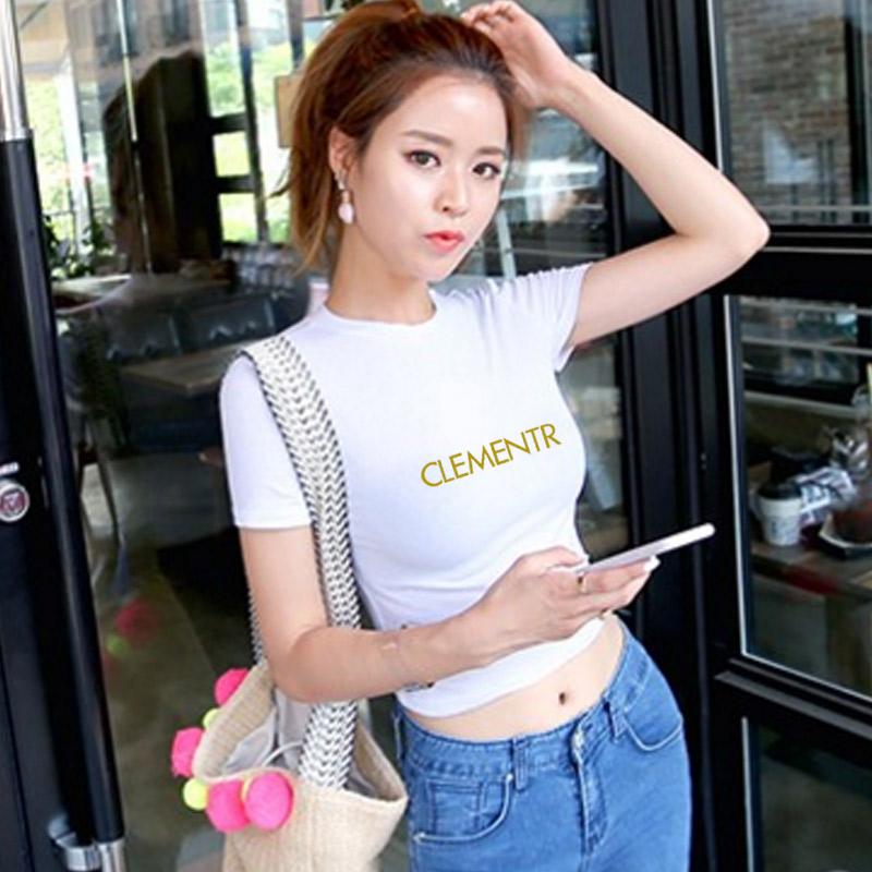 女夏韩版短款短装优惠券