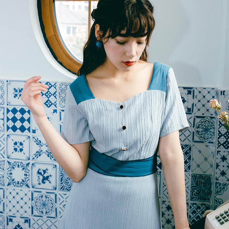 夏季小清新连衣裙