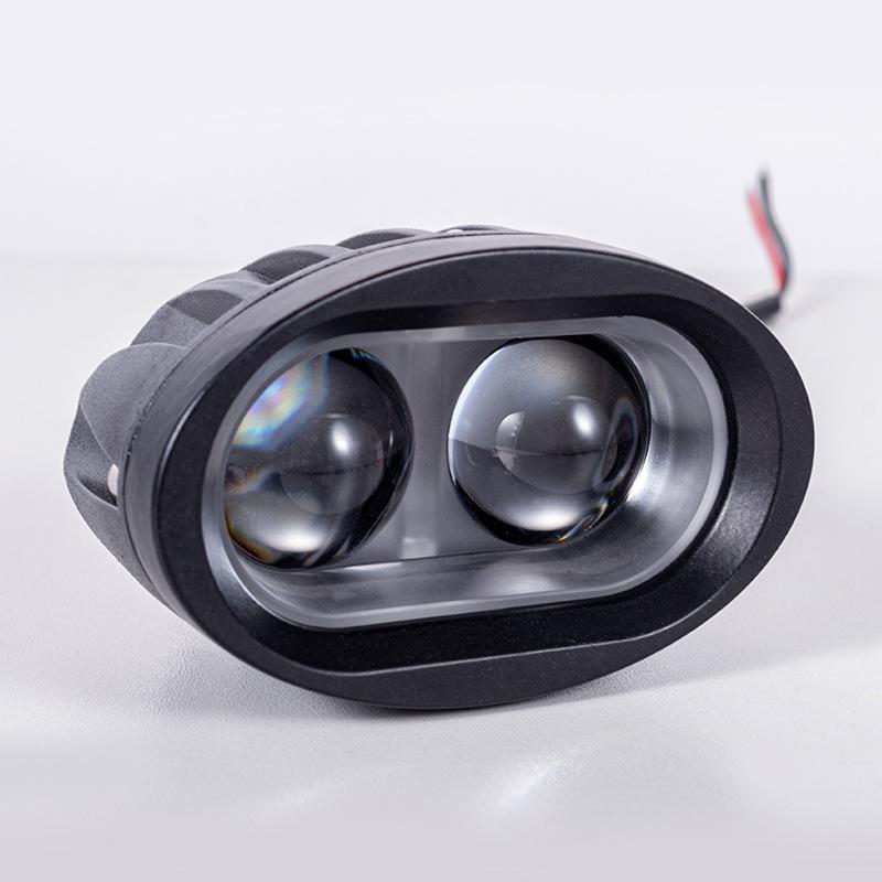 LED摩托车外置大灯12V-24V电动车白色高亮改装通用配件