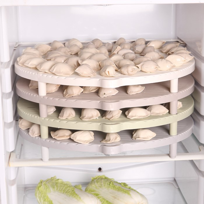 家用圆形饺子帘 面食帘水饺盖帘托盘预售优惠券