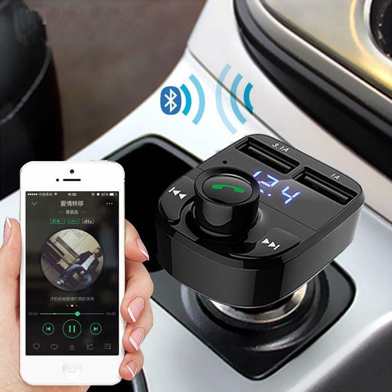 蓝牙mp3播放器免提通话双USB车充优惠券