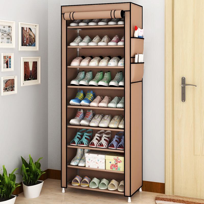 简易鞋架防尘收纳鞋柜多层鞋架门厅置物架优惠券