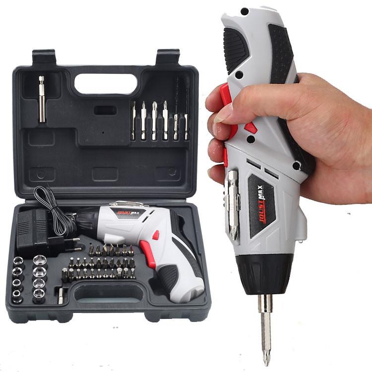 多功能充电式手电钻 电动螺丝批套装优惠券