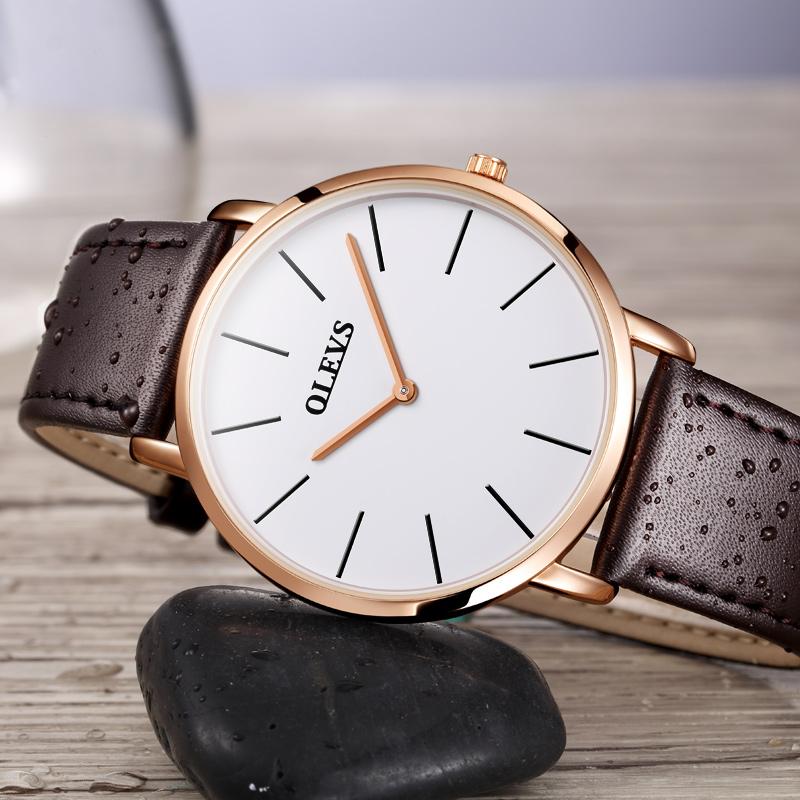 【经典多色可选】进口机芯超薄手表优惠券