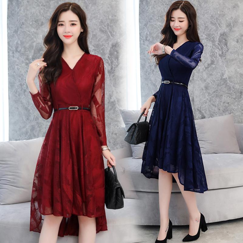 70后该有的模样,新款'蕾丝裙',高档洋气,美绝了
