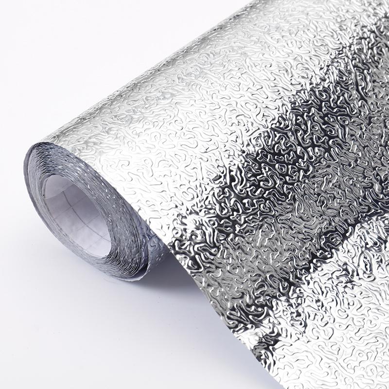 自粘防水厨房防油贴纸耐高温灶台墙贴铝优惠券