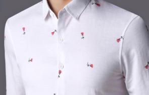 有小肚子的男人千万别乱买衣服,买这种遮肉显瘦款的衬衫,特别帅