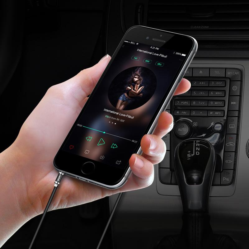 车载音频线彩色音频线手机连汽车音优惠券