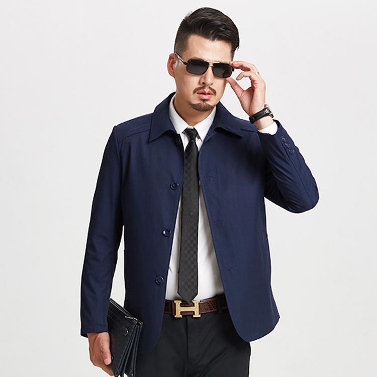【正品授权PLOVER】春季新款中老年休闲夹克外套男优惠券