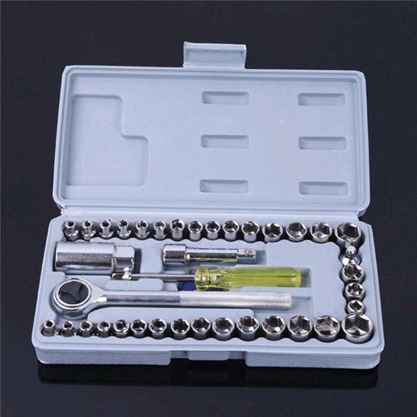 40件套筒扳手汽车维修工具组合套装优惠券