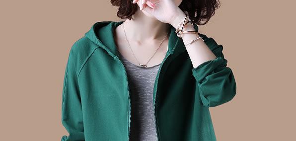 7080后女人,2018年风衣不流行了!精致的卫衣开衫,忒美