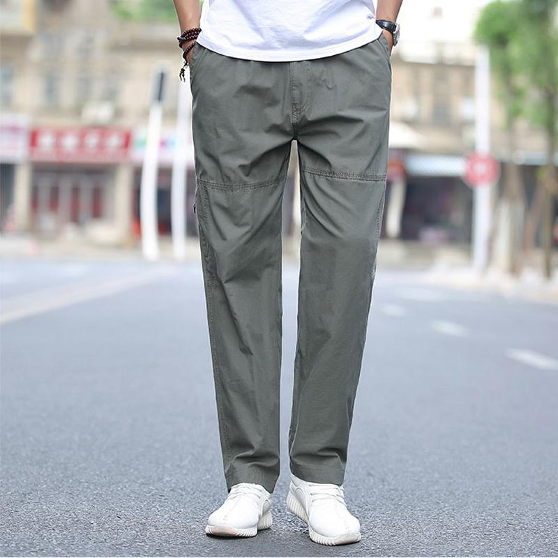 """紧身男裤快点扔了,今年很火的宽松""""防盗裤"""",舒适帅气带拉链"""