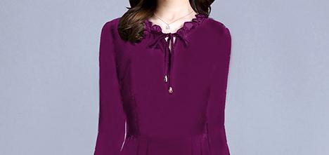 9月新上一波欧版秋裙,款款都特漂亮,关键:60后穿洋气超迷人