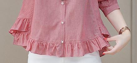 立秋后,52岁婆婆把裙子扔了,穿这小衫,配九分裤,美出少女范