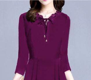 """发现:""""薄""""秋裙!竟比旗袍裙还典雅,比香云纱还洋气,好想穿"""
