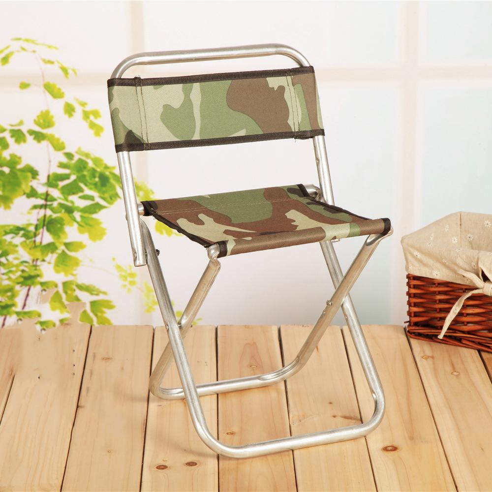 金属靠背凳户外钓鱼凳 便携式伸缩折叠凳