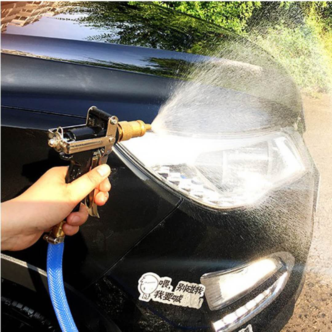 【高压出水】纯铜水枪头洗车水管工具套装优惠券