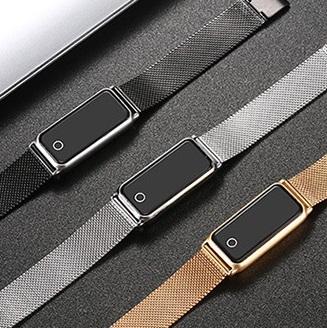 【尊贵版】不锈钢拉丝智能手环手表优惠券