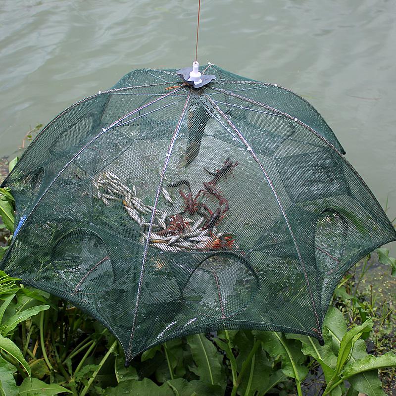 全自动捕鱼网神器折叠自动捕鱼笼
