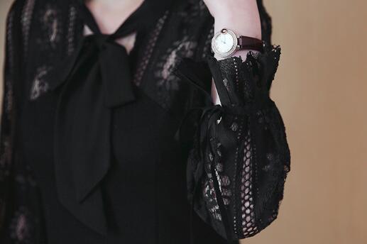 性感蕾丝修身显瘦小黑裙胖妹妹A字连衣裙优惠券