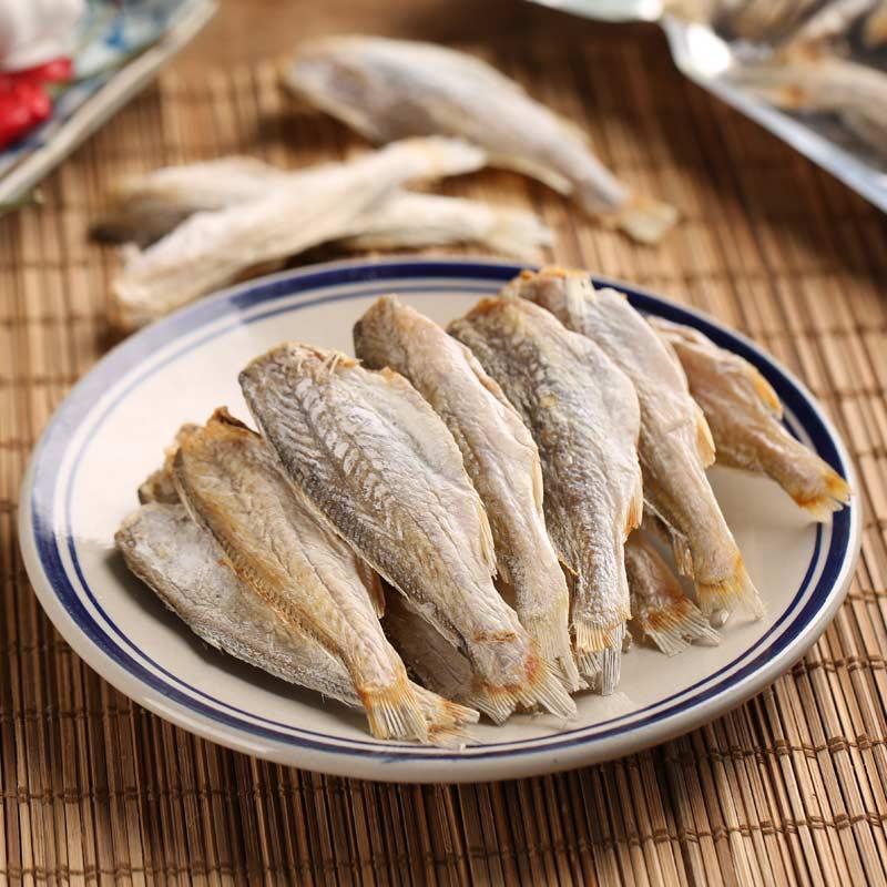 采小海 天然海晒无头小黄鱼干咸鱼 去内脏小黄花鱼干250g/袋优惠券