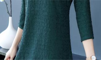 讲真的!头次见如此好看的秋裙,比去年美多了,70后穿显瘦美