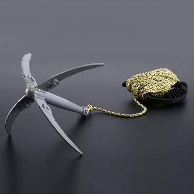 亿登钓鱼水草刀渔具垂钓用品折叠不锈钢优惠券