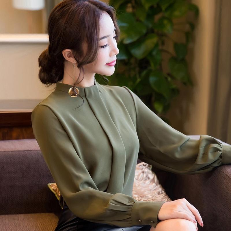 秋装新款女装宽松气质小衫上衣衬衫长袖优惠券